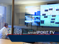 smartPORT TV: Hamburg leads the way with the Port Road Management Center